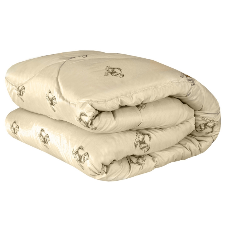 Одеяло из овечьей шерсти, пышное и очень теплое
