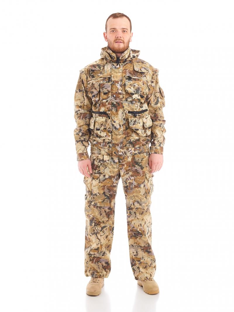 Костюм Тигр куртка, для охоты и рыбалки, костюм